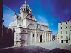 cathedral st james sibenik croatia   next time I'm in Croatia...