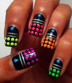 Dalek nail art
