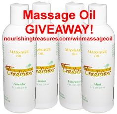 WIN Massage Oil from Tropical Traditions…