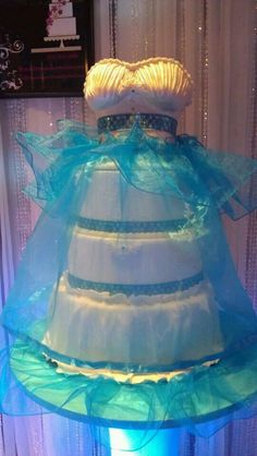 Quincenera Cake   Make your cake look like a replica of your dress