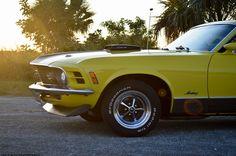 1970 Ford Mustang fastback Mach 1 shaker scoop Cobra Jet