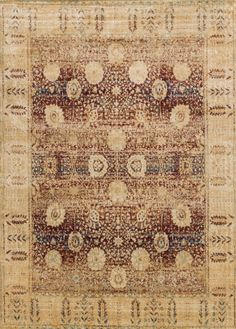These ornate traditionals add character to any setting with their distressed image and modernized color schemes. Power-loomed of polyester and polypropylene these rugs are easy care while still giving the appearance of being a fine hand-made rug.