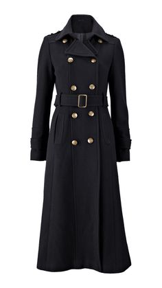 Military Style Ladies Maxi Coat | Got a coat dilemma? We've got it ...
