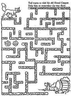 free printable mazes for kids.easy, medium and hard - sema aydın- Mazes For Kids Printable, Free Printables, Kids Mazes, Preschool Activities, Activities For Kids, Easy Toddler Crafts, Maze Puzzles, Labyrinth, Maila