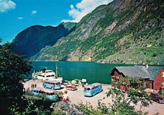Beautiful Color Photos Capture Norway In Vibrant Colors Norway, Countryside, 1960s, Vibrant Colors, Beautiful Places, History, Photography, Travel, Public Domain