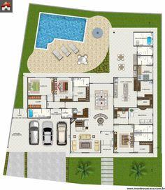 Casa 4 Quartos - 331.33m²