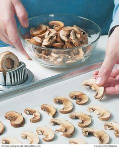 Can't seem to use up fresh mushrooms before they go bad? Stop wasting and start saving with this tip for freezing!