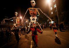 New York City Hosts Annual Halloween Parade