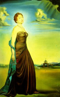 Salvador Dali - Portrait of Mrs. Reeves, 1954