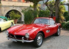 Classic love... BMW 507 #ClassyCars