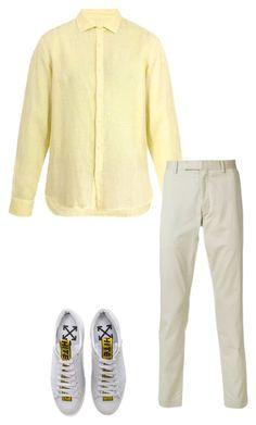 """Без названия #94"" by plaza1307 on Polyvore featuring 120% Lino, Polo Ralph Lauren, Off-White, men's fashion и menswear"
