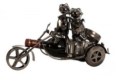 Stojan na víno  Pár na motorke