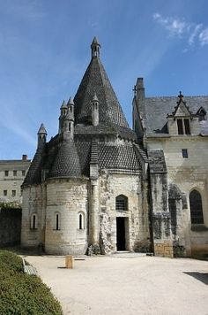 Fontevraud Abbey - Loire Valley, France. Final resting place of Eleanor of Aquitaine and King Henry II.