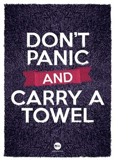 May 25th... Towel Day!