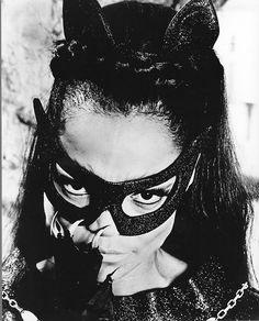 Eartha Kitt as Catwoman. S)