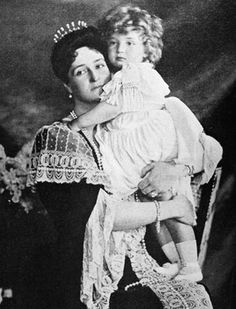 Tsarevich Alexei and Tzarista Alexandra. Never has a son & mother held the fate of a country in their hands nor has the future of a dynasty been so closely tied to the health of a child.