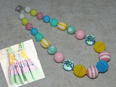 M2M SweetHoney Chunky Bubblegum Bead by ParadiseJewelryofCP, $18.00