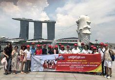 Vé máy bay Hà Nội đi Singapore tháng 7 giá rẻ Vietjet Air