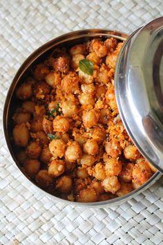 Great Chana Masala Sundal / Chickpea (Kabuli Chana) Masala Sundal / Kondakadalai Sunda..., ,