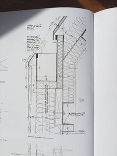 This photo is undeniably a noteworthy style technique. Section Drawing Architecture, Detail Architecture, Architecture Building Design, Concrete Architecture, Facade Design, Roof Design, Framing Construction, Construction Drawings, Construction Design