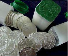 Silver Eagle Coin  www.adorepurses.com