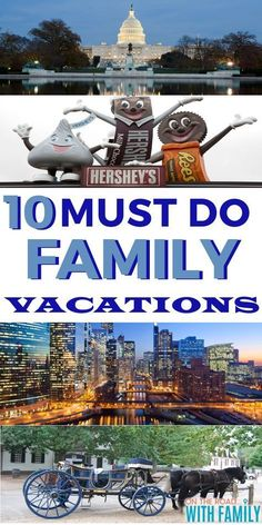 10 Must See Familienurlaub - US Family Vacations - Us Family Vacations, Best Family Vacation Destinations, Vacations In The Us, Vacation Trips, Family Travel, Travel Destinations, Best Vacations For Kids, Family Summer Vacation Ideas, Family Trips
