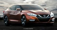 Future Cars: Nissan's New 2016 Maxima from Concept to Reality