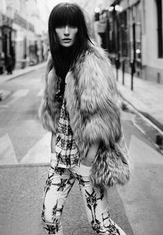 Fur Coat Vogue Russia