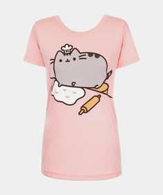 Baker Pusheen T-shirt (womens)
