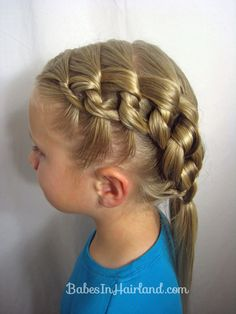 Chunky Knot Hairstyle from BabesInHairland.com #knots #hair #video #hairstyles