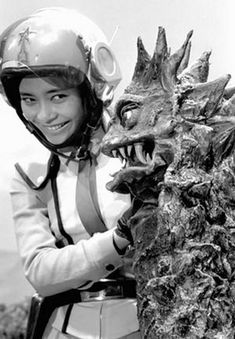 Akiko Fuji (フジ・アキコ Fuji Akiko) is the main communications officer of the SSSP, as well as the only main female character from the TV series Ultraman. Akiko is the only female member of the main SSSP team who's mainly in charge of communication. However, she was also seen in action on some missions. Despite never taking a holiday during her job but she had once seen in vacation in episode 4. Akiko also had become targeted by evil aliens on some occasions (etc: Alien Zarab, Alien Mefilas…