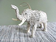 53 Creative Craft Ideas Using Book Pages | FeltMagnet