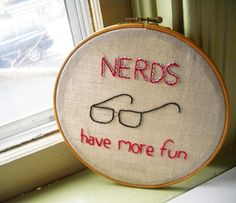 Nerdy Embroidery