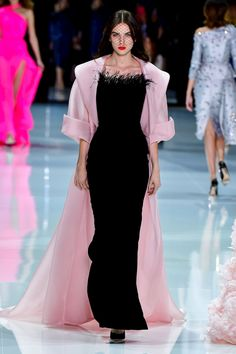 Ralph Russo Fashion Show Couture Collection Spring Summer 2018 in Paris