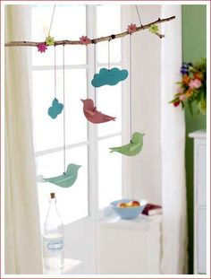 Bunny Garland for Easter Window Decor Classroom Window Decorations, Light Decorations, Diy For Kids, Crafts For Kids, Easter Garland, Spring Crafts, Easter Crafts, Diy And Crafts, Windows