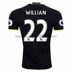 Fodboldtrøjer Premier League Chelsea 2016-17 Willian 22 Udebanetrøje