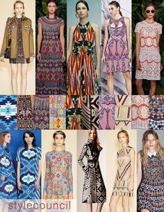 Style Council: Resort 2016 Trend Report-These trendy tribals add layers of pattern and a bit of edge to every season.