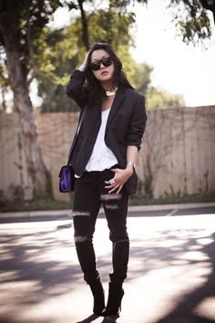 the oversized blazer.