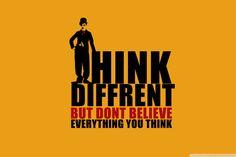 Denk anders! Denk besser!