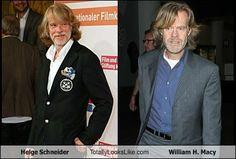 Helge Schneider Totally Looks Like William H. Macy