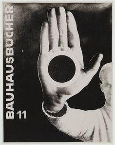 Bauhausbücher 11 / László Moholy-Nagy / 1924-31 / Gelatin silver print / MoMa