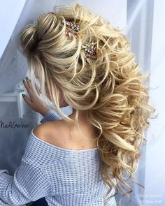 Wedding Hairstyles : 100 Wedding Hairstyles from Nadi Gerber Youll Want To Steal | Hi Miss Puff