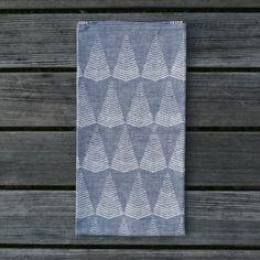 Linnehandduk - Berg blågrå