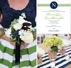 preppy nautical weddings - Google Search
