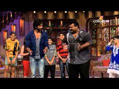 Shahid Kapoor dances with children | Kapil Sharma Video Website