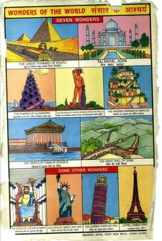 Collection of Indian school posters. Collection of Indian school posters. English Speaking Book, Learn English, Great Pyramid Of Khufu, Indian Constitution, Learn Hindi, Gernal Knowledge, School Posters, Small Boy, Seven Wonders