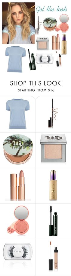 """Perri Edwards get the look"" by xmmatherx ❤ liked on Polyvore featuring beauty, Michael Kors, Anastasia Beverly Hills, Urban Decay, Charlotte Tilbury, tarte, Clinique, MAC Cosmetics and NARS Cosmetics"