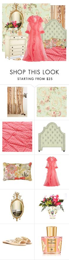 """Good Night, y'All"" by jannieboots ❤ liked on Polyvore featuring Anthropologie, York Wallcoverings, Paula Deen, Improvements, Gucci, Dolce&Gabbana and Acqua di Parma"