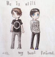 Dan and Phil by HyruleLuisa