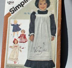 Vintage 1980s Sewing Pattern Simplicity 6184 by Old2NewMemories, $4.50